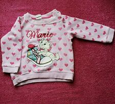 3-6 months girl cute Disney pink winter jumper sweater pullover from h&m