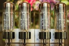 Quad Matched NOS Mullard CV1741 / EL34 / 6CA7 Great Britain Vacuum Tubes Valves