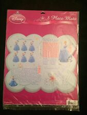 Cinderella activity Place Mats-8ct~party supplies/favors~Hallmark