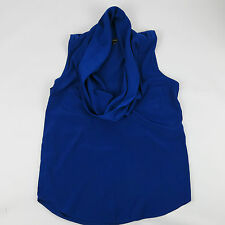 Ladies RIVER ISLAND Blue Top Size 8 - 10