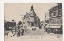 Trouville Hotel de Ville Vintage Postcard France 275a