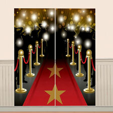 5ft Hollywood Movie Prom Night Party Giant Red Carpet Scene Setter Decoration