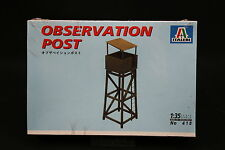 XZ169 ITALERI 1/35 maquette 418 Observation Post Tour observation 1997 Ptitoys