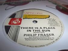 """PHILIP FRASER-THERE IS A PLACE IN SUN/SUGAR BLACK-PRETTY BABY NEW SEALED 12"""""""