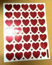 VINTAGE JAPAN STICKER SCRAPBOOK DIY CRAFT PUFFY REWAR MATTE SCENT REN HEART