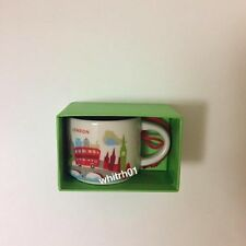 Starbucks London YAH Ornament Mug Demi You Are Here Christmas New Coffee England