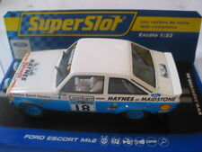 SCALEXTRIC  C3636 FORD ESCORT MK2 1979 LOMBARD TROPHY J TAYLOR MINT BOXED