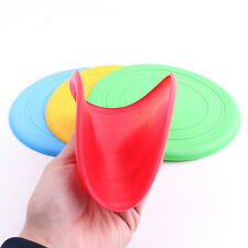 Silicone Big Pet Dog Training Soft Frisbee Flying Disc Frisby Fetch Toy