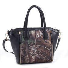 REALTREE XTRA GUN PURSE, HANDBAG - CONCEALED CARRY CCW CAMOUFLAGE - GRACE BLACK
