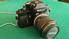 Nikon F2 BLACK  Photomic + Zoom  NIKKOR Auto 43-86mm f/3.5