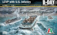 LCVP WITH U.S. INFANTRY D-DAY 1944 ITALERI 1/35 PLASTIC KIT