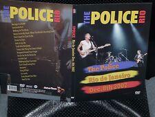 The POLICE Rio De Janeiro Brazil Dec 8, 2007 Digi-Pack DVD New Sting CD