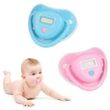 Baby Nipple Thermometer Pacifier Water-resistant & LCD Display DT-211A - Blue