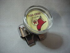 TEXACO  FIRE CHIEF  STEERING WHEEL SUICIDE SPINNER BRODIE KNOB HOT ROD CLASSIC