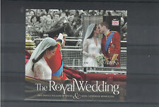 Guyana 2011 MNH Royal Wedding 1v S/S Prince William Kate Middleton Catherine