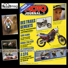 MOTO JOURNAL N°757 GRAND PRIX SPA, JACKY VIMOND, KAWASAKI Z 1300, MOTOCITY 1986