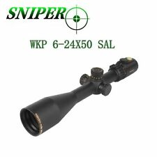 FFP 30mm Tube Glass Mil Dot Reticle Scope - Sniper Long Range Scope WKP6-24x50
