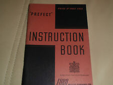Vintage Ford Prefect instruction book 1946. looks unused..