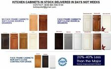 ALL WOOD KITCHEN CABINETS1/2  PLY WOOD BOX SOFT CLOSING FREE CUSTOM DESIGN