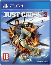 JUST CAUSE 3 PS4 Game (BRAND NEW SEALED) INDIAN MRP STOCK