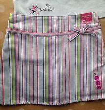 NWT Gymboree EUROPEAN HOLIDAY Stripe Skort Skirt 7