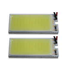 2x HID White 36-COB LED Panel For Car Vehicle Interior Map/Dome/Door/Trunk Light