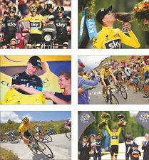 Chris froome Tour De France 2015 ganador Postal Set