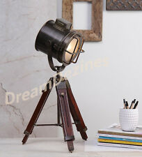 Designer Marine Tripod Floor Lamp Nautical Spot Studio Tripod table Lamps Lights