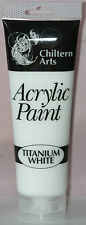 New ACRYLIC PAINTS 8 Assorted Colours 120ml Tube Arts Crafts Children Artist