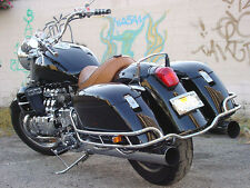 HONDA VALKYRIE CHROME SADDLEBAGS SADDLE BAG RAIL GUARD