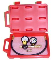 Dual Gauge Cylinder Leak Down Tester -MADE IN THE USA - with Storage Case - New