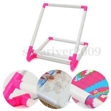 Sit-On Clip Embroidery Frame Cross Stitch Hoop Stand Craft Sewing DIY Tool