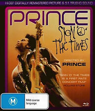 Prince: Sign o the Times NEW B Region Blu Ray
