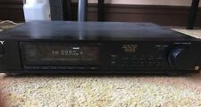 High End Vintage SONY ST-S550ES AM FM Stereo Tuner Works Great