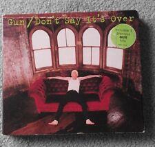 Gun - Don't Say It's Over - Original UK 4 TRK CD Single