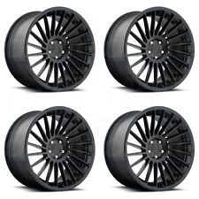 18x8.5 Rotiform IND T R127 5x112 45 Matte Black Wheel Sale set(4)