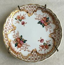 Mason's Ironstone Grosvenor Made In England Numbered 107 Plate W/ Hanger