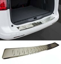 BMW 3 Series F30 Rear Bumper Stainless Steel Protector Guard Trim Cover Chrome M