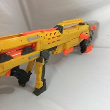 Nerf N Strike Yellow Longshot CS-6 Rifle Gun Dart Gun Sniper Blaster Barrel