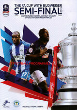 * 2013 FA CUP SEMI-FINAL - MILLWALL v WIGAN ATHLETIC *