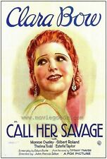 Call Her Savage - 1932 - Dillon Clara Bow - Vintage b/w Pre Code Film DVD