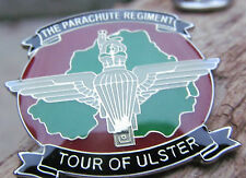 PARACHUTE REGIMENT - TOUR OF ULSTER BADGE SAS PARA AIRBORNE POPPY ARMY BRITISH