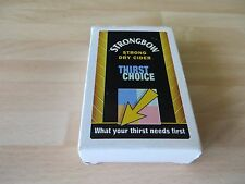 STRONGBOW playing cards, light  signs of use  to the cards in V GC