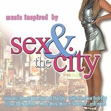 VARIOUS ARTISTS - Music Inspired By Sex And The City CD ** NEW/ STILL SEALED **