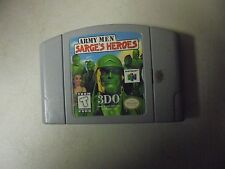 "Nintendo Game Cartridge ARMY MEN ""SARGE""D HEROES 3DO"