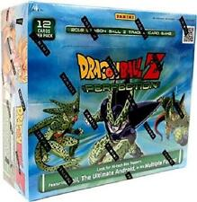 DRAGON BALL Z CCG PANINI PERFECTION BOOSTER SEALED BOX DBZ - IN STOCK!