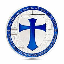 NEW Cross Crusader Knights Templar Commemorative Coin Art Collection Gifts