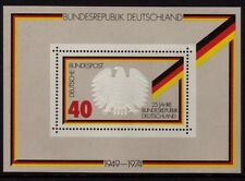 W Germany 1974  Formation of Federal Republic SG MS1703 MNH