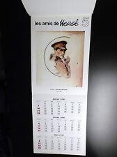 Calendrier Les Amis de Hergé  ETAT NEUF
