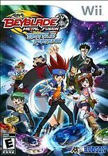 Beyblade Metal Fusion Battle Fortress COMPLETE GREAT Nintendo Wii